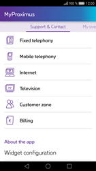 Huawei P9 Lite - Applications - MyProximus - Step 21