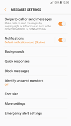 Samsung G930 Galaxy S7 - Android Nougat - SMS - Manual configuration - Step 6