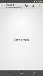 Sony Xperia M2 (D2303) - E-mail - Handmatig instellen - Stap 18