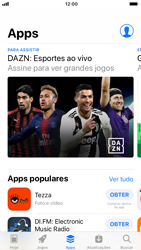 Apple iPhone 7 - iOS 12 - Aplicativos - Como baixar aplicativos - Etapa 6