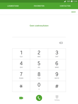 Samsung Galaxy Tab A 9.7 - Voicemail - Handmatig instellen - Stap 3
