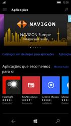 Microsoft Lumia 950 - Aplicações - Como pesquisar e instalar aplicações -  6