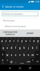 HTC Desire 510 - E-mails - Ajouter ou modifier un compte e-mail - Étape 6