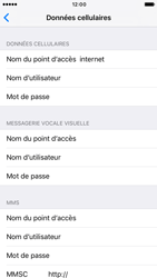 Apple iPhone 6 iOS 10 - Internet - Configuration manuelle - Étape 7