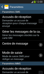 Samsung Galaxy S3 Lite (I8200) - SMS - configuration manuelle - Étape 8
