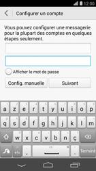 Huawei Ascend P7 - E-mail - Configuration manuelle - Étape 7