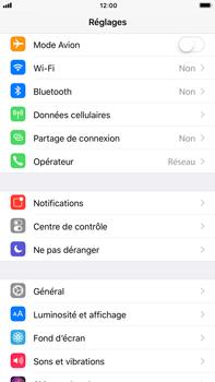 Apple iPhone 7 Plus - iOS 11 - Internet et connexion - Partager votre connexion en Wi-Fi - Étape 3
