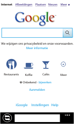 Nokia Lumia 710 - Internet - Internet gebruiken - Stap 10