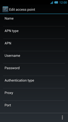 Acer Liquid S2 - Internet - Manual configuration - Step 12