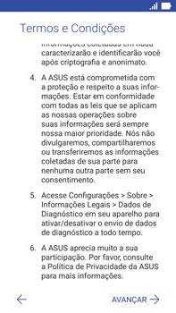 Asus Zenfone 3 - Primeiros passos - Como ativar seu aparelho - Etapa 11