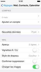 Apple iPhone 5s - E-mail - Configuration manuelle - Étape 14
