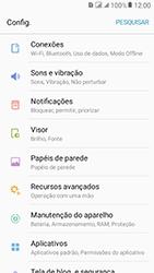 Samsung Galaxy J2 Prime - Rede móvel - Como selecionar o tipo de rede adequada - Etapa 4