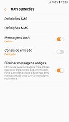 Samsung Galaxy A5 (2016) - Android Nougat - SMS - Como configurar o centro de mensagens -  7