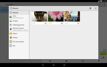 Sony Xperia Tablet Z2 (SGP521) - MMS - envoi d'images - Étape 15