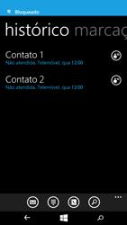 Microsoft Lumia 535 - Chamadas - Como bloquear chamadas de um número -  8