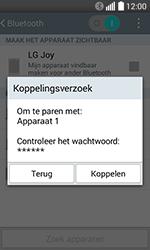 LG H220 Joy - WiFi en Bluetooth - Bluetooth koppelen - Stap 8