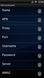Sony Ericsson Xperia Neo V - Mms - Manual configuration - Step 8