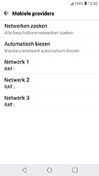 LG K11 - Netwerk selecteren - Handmatig een netwerk selecteren - Stap 9