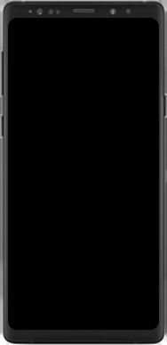 Samsung Galaxy Note 9 - Premiers pas - Découvrir les touches principales - Étape 2