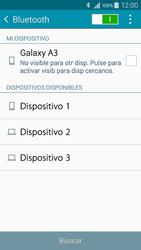 Samsung Galaxy A3 - Bluetooth - Conectar dispositivos a través de Bluetooth - Paso 6