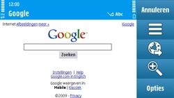 Nokia N97 - Internet - hoe te internetten - Stap 5