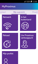 Samsung Galaxy Xcover 3 VE - Applicaties - MyProximus - Stap 16