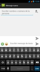 Wiko Stairway - Mensajería - Escribir y enviar un mensaje multimedia - Paso 6