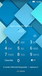 Alcatel POP C7 - Primeiros passos - Como ligar o telemóvel pela primeira vez -  3