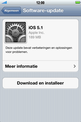 Apple iPhone 4 - Software update - update installeren zonder PC - Stap 6