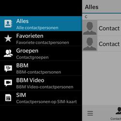 BlackBerry Classic - Contacten en data - Contacten kopiëren van SIM naar toestel - Stap 5