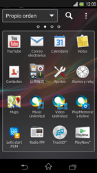 Sony Xperia L - E-mail - Configurar correo electrónico - Paso 3