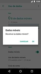 Motorola Moto X4 - Rede móvel - Como ativar e desativar uma rede de dados - Etapa 6