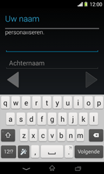 Sony D2005 Xperia E1 - Applicaties - Account aanmaken - Stap 6