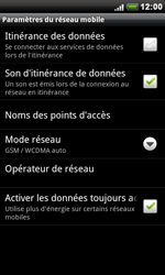 HTC S510e Desire S - Réseau - utilisation à l'étranger - Étape 9