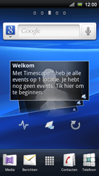 Sony Ericsson Xperia Ray - MMS - automatisch instellen - Stap 5
