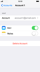 Apple iPhone 5s - iOS 12 - E-mail - Manual configuration IMAP without SMTP verification - Step 28