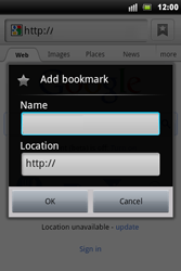 Sony Ericsson Xperia Mini Pro - Internet - Internet browsing - Step 5