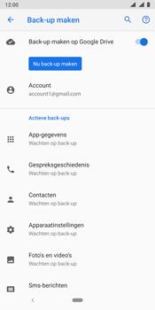 Nokia 9 - Data - Maak een back-up met je account - Stap 11