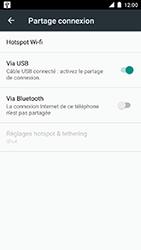 Motorola Moto C Plus - Internet et connexion - Utiliser le mode modem par USB - Étape 8