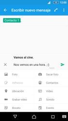 Sony Xperia Z5 - Mensajería - Escribir y enviar un mensaje multimedia - Paso 16