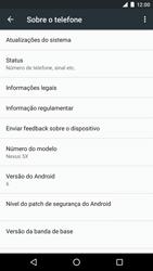 LG Google Nexus 5X - Primeiros passos - Como encontrar o número de IMEI do seu aparelho - Etapa 5