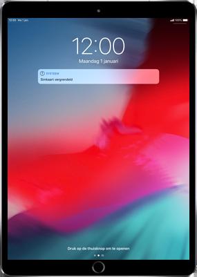 Apple iPad Air 2 - iOS 11 - Instellingen aanpassen - Hoe gebruik ik de Automatisch inloggen-optie - Stap 22