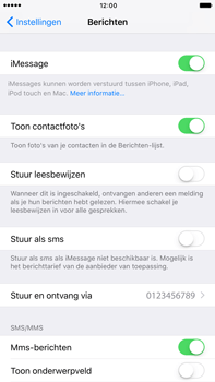 Apple iPhone 6s Plus iOS 10 - MMS - probleem met ontvangen - Stap 11