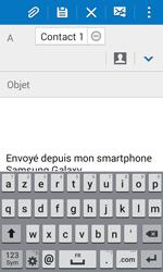 Samsung G388F Galaxy Xcover 3 - E-mail - envoyer un e-mail - Étape 7