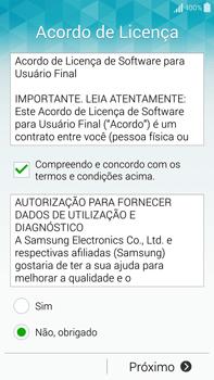 Samsung N910F Galaxy Note 4 - Primeiros passos - Como ativar seu aparelho - Etapa 9