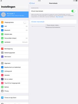 Apple Apple iPad Pro 12.9 - iOS 11 - Device maintenance - Back up - Stap 14