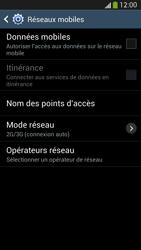 Samsung I9505 Galaxy S IV LTE - Internet - Désactiver les données mobiles - Étape 8