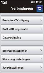 LG GD900 Crystal - Automatisch instellen - Automatisch Internet instellen - Stap 7