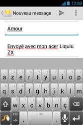 Acer Liquid Z3 - E-mail - Envoi d