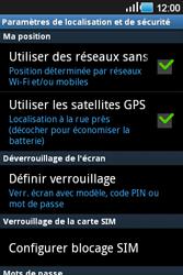 Samsung Galaxy Ace - Sécuriser votre mobile - Activer le code de verrouillage - Étape 5